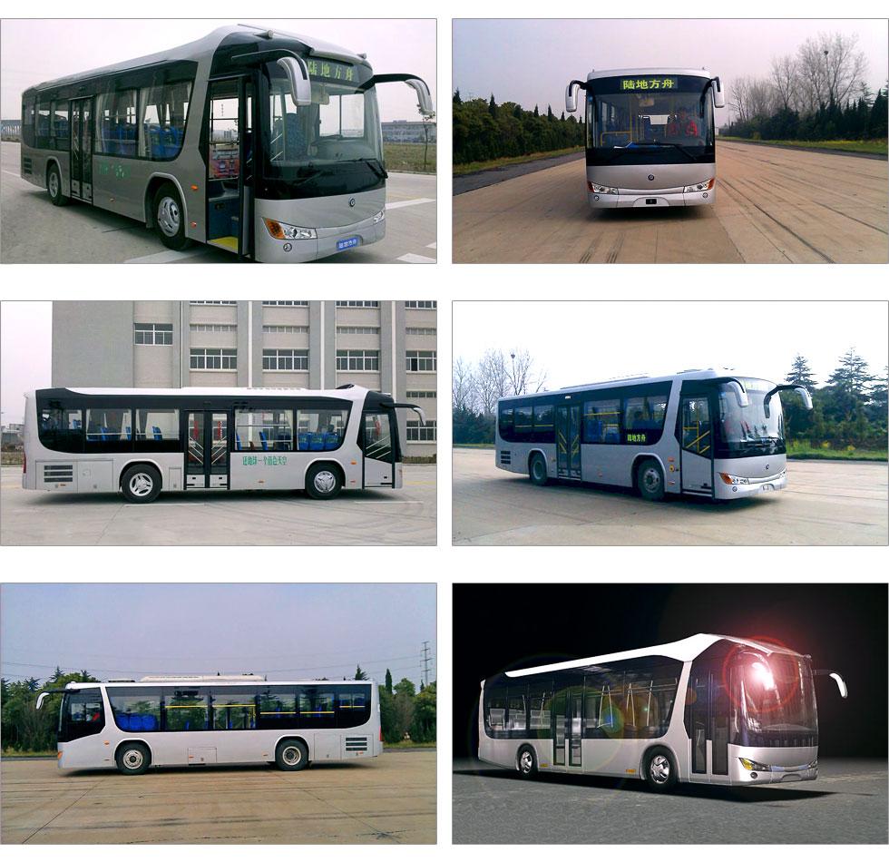 混合动力客车,新能源客车高清图片